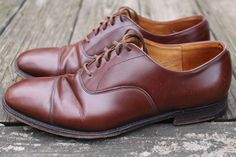 For sale: Men's Church's Custom Grade 'Balmoral' oxford shoes. Features: Made in England, 73 last, full leather with combination heels, Goodyear welted. Size: 9.5 D, UK 9. | eBay!