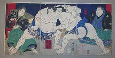 相撲絵   山星書店 浮世絵 在庫目録 名古屋