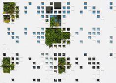 jean nouvel, cyprus, nicosia, Eleftheria Square, greenery, plants, balcony, atrium, landscape design