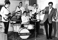 Johnny Lion & The Jumping Jewels in 1962