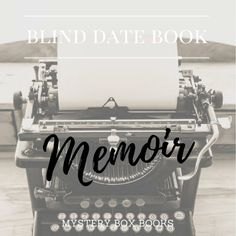 Blind Date with a Book - MEMOIR