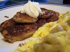 paleo pear fritters