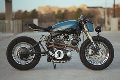 The 80's yielded more horrors than just Thatcher, the Iran-Iraq war and permed hair - it also introduced Yamaha's Virago line of motorcycles. Porky, uninspiring to ride and with styling verging on the offensive, they've become a favourite of the custom scene over the last ten years. And now Arkansas' One-Up Moto Garage have turned their hand to the most forgettable of the...