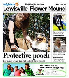 07 Pets and Their People: Madigan, an Australian shepherd, knows how to warn Terri Sutten of epileptic seizures.