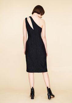 Le 902 - Asymmetric sheath dress