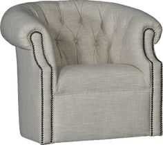 Mayo Furniture 8220F Fabric Swivel - Claire Flax