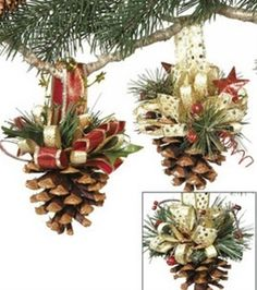 Pine Cone Ornaments - Pine Cone Ornaments  Repinly Holidays  Events Popular Pins
