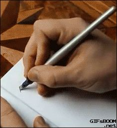 Sad to think I used to be able to do this...calligraphy. Had the nicest pen set.
