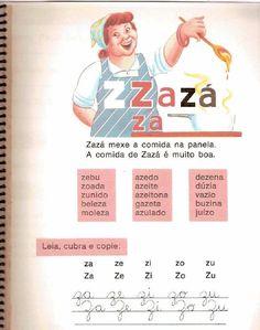 Cartilha de alfabetização Infantil Caminho Suave Nostalgia, Messages, Memories, Activities, Education, Vintage, Literacy Activities, Word Formation, Frases