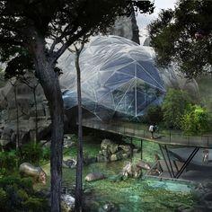 Zoo Vincennes renovation project - amazing concept art
