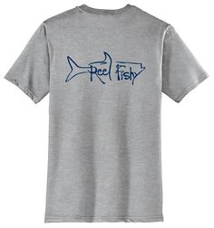 Tarpon T-Shirt with Reel Fishy Logo