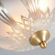 Plafón BEATRIX 33 bronce - Lámpara de aspecto clásico con el borde con  motivos decorativos y 75ad60030d23