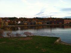 Lake Opechee, Laconia NH, late October