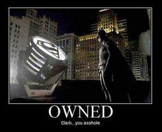 Super hero humor....