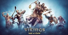 Викинги: Война кланов - онлайн игра жанра Браузерные стратегии играть сейчас бесплатно