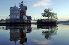 The Saugerties Lighthouse, a couple hours north of New York City, has two cozy guest rooms. You hike a half mile through the woods to reach it, and then you can sit on the water, relax and drink wine in the evening. The town of Saugerties also has great restaurants, so you could go out to dinner and then sneak back through the woods at night!