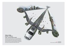 Efficiencies campaign for Audi Middle East