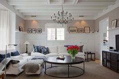 The Flos chandelier- classic but so popular (at least in Sweden) that i'm almost getting tired of it. Wouldn't say know if someone offered it to me thoug :)