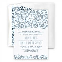 Arbor Wedding Invitation | eInvite.com