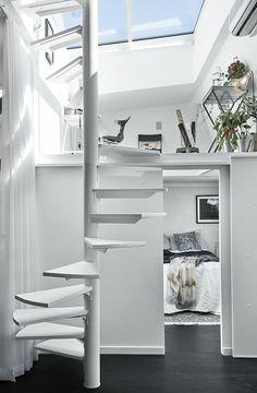 Blanco y negro: Ideas para decorar un apartamento con un estilo contemporáneo.