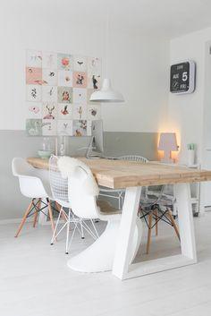 missjettle : Inspiratie en de boel om gooien - Lilly is Love Interior Design Living Room, Living Room Decor, Living Spaces, Room Inspiration, Interior Inspiration, Dining Chairs, Dining Table, Dining Room, Sweet Home