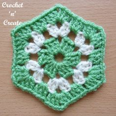 I have written this crochet granny hexagon uk pattern as an addition to my granny stitch patterns. Hexagons seem to be the hot design right now, so give a try!