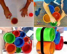 Veja o procedimento para fazer nichos coloridos (Foto: Mais Você / TV Globo)