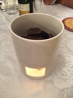 Fondue de Chocolate Preto!