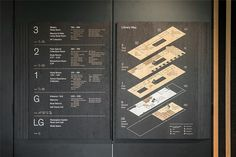 Brief We delivered the signage and wayfinding for the University of Roehampton's new library designed by our long time collaborators Feilden Clegg Bradley Studios. Map Signage, Library Signage, Door Signage, Office Signage, Wayfinding Signs, Exterior Signage, Signage Design, Map Design, Directional Signage