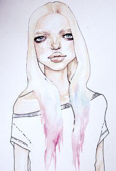 fashion illustration by Kimerberly Gordon