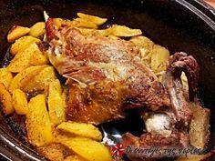 Αρνάκι στο φούρνο με πατάτες και μυρωδικά #sintagespareas #arnakimepatates