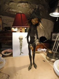 Realm of Froud: puppet fabrication by Wendy Froud