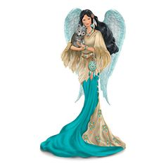 The Spirit Of Strength Angel Figurine