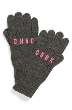 Geek chic gloves