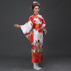 The new Japan Japanese Sakura kimono dress fashion ladies costume pajamas bathrobe national cos-in Asia & Pacific Islands Clothing from Novelty & Special Use on Aliexpress.com   Alibaba Group