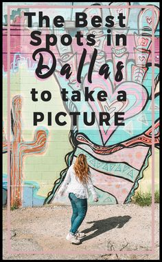 The Best Spots in Dallas to Take a Picture | Best Murals across Dallas | Here are the top places in Dallas for Instagram and Photography including skylines, coffeeshops, restaurants, and of course murals | Instagrammable Dallas #instagram #dallas #dallasinstagram #murals #texas