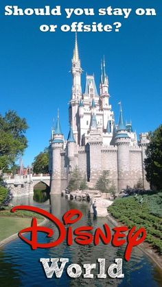 Should you stay on or offsite in Walt Disney World? The pros and cons of staying on Disney property rather than staying in an independent hotel or villa.  Tips and tricks to get the most out of your Walt Disney World, Orlando, Florida vacation.