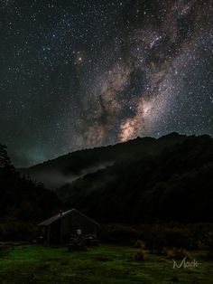 Hunting for the Milky Way.  Credit : Mack Photography NZ  Rangitikei Hut or Korohi Bivvy nestled deep in the Kaimanawa Ranges. This shot was from a hunting trip back in 2014. Super dark skies in this area, the foreground and hut were illuminated by starlight alone. Haven't been hunting in a while, but looking forward to the next hunting adventure. Edited with VSCO Agfa Vista 100 film preset