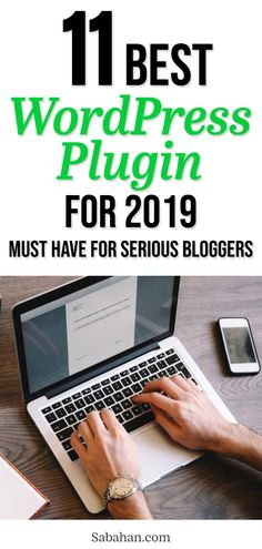 With thousands of free and premium wordpress plugins at your finger tips, it's hard to know which one are the best. Not anymore! These are the ultimate hand-picked of the best wordpress plugins for 2019. Improve your bog, add new functionalities while making sure they won't slow down your blog or compromise the security! #wordpressplugins #recommendedwordpressplugins #bestwordpressplugins