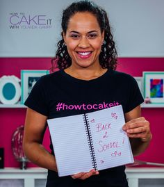 I'm revamping my How To Cake It sketchbook for back to school season - with a lined paper journal! School supplies are my fave part of fall! #Baking #Dessert