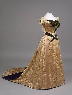 1890 dress by House of Worth
