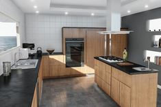 Contemporary Kitchen Lighting Dispatch Light Exactly Where You Need It Most Contemporary Kitchen Contemporary Dispatch Kitchen light Lighting Design Seeds, Painting Kitchen Cabinets, Kitchen Paint, Living Room Paint, Kitchen On A Budget, Cuisines Design, Küchen Design, Wall Design, Modern Kitchen Design
