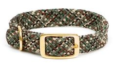 Mendota Products Double Braid Dog Collar, Camo, 1 x 21-Inch - http://www.thepuppy.org/mendota-products-double-braid-dog-collar-camo-1-x-21-inch/