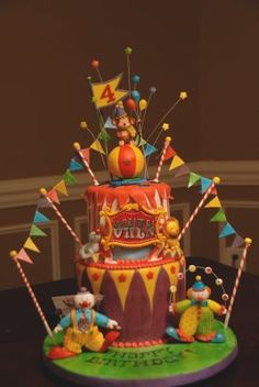 Sang's Cakes: The Circus Cake