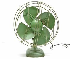 Vintage Fan definitely getting the antique fan out this summer | for the home