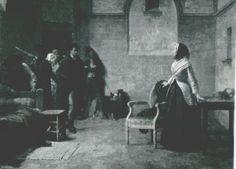 Baader Louis-Marie, Musée des Beaux-Arts et d'Archéologie, Renees, France.   The last morning of Marie Antoinette.