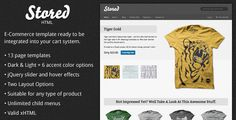 Download Nulled Stored   HTML Ecommerce Template For Free