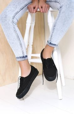 Vans Authentic Black Sneakers