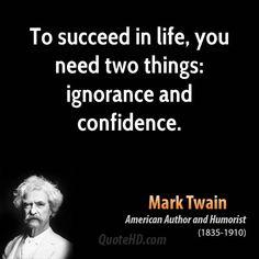 Mark Twain Quotes + build karma at 'Drive-by Inspiration'