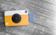 Kodak today launched a new stylish 'point-and-shoot' instant print camera, the Kodak Printomatic. It prints high-quality, full-color photos straight from t